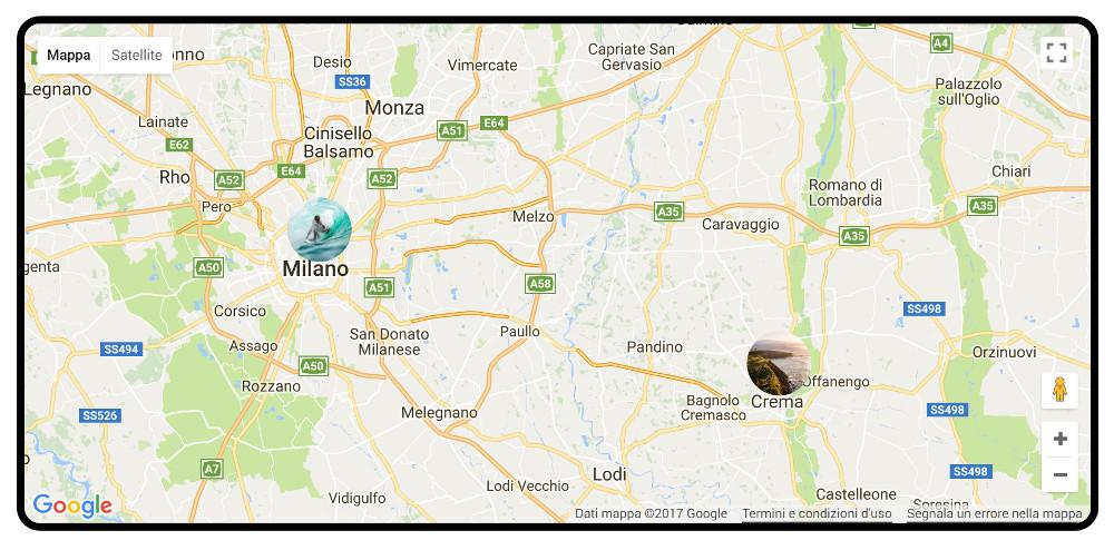 Example custom map